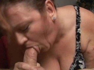 redhead mature big beautiful woman sucks young