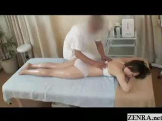 all hands on fleshly oil massage with lewd japan