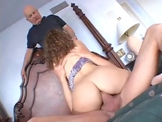 cute wife acquires fucked hard by 5 older dudes