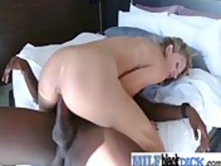 hawt milfs get nail by large darksome schlongs