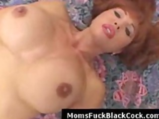 redhead breasty milf pounded by darksome stud in