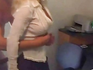 older hawt secretary swallow cum