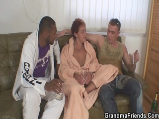 granny takes 5 big rods