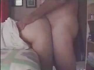 stud creampies his overweight wife