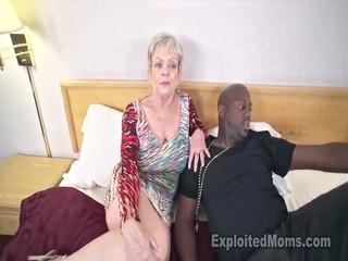busty granny in creampie clip