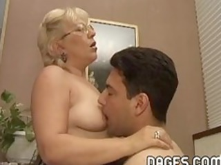 older woman boned for real