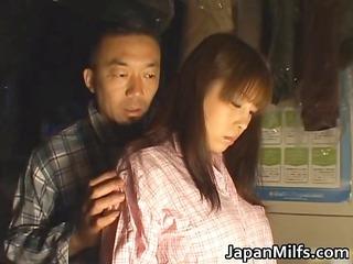 horny japanese milfs engulfing and fucking part3