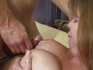 pale brunette d like to fuck acquires cumshot on