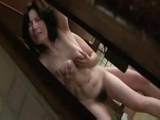 mature japanese woman acquires lathered up and