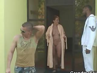 studs group sex naughty granny