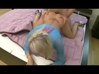 mother i pussy fisted and blowjob