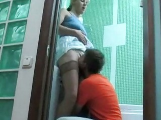 lad discovered his neighbors wife in bathroom all