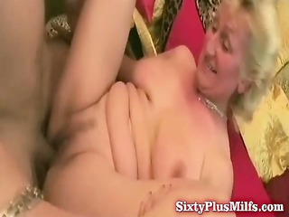 chubby grandma asks for greater quantity