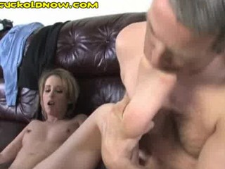 cuckold can solely engulf his wifes toes
