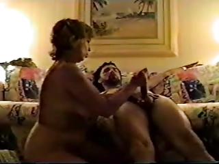 large titties aged uses hands, mouth, bra buddies