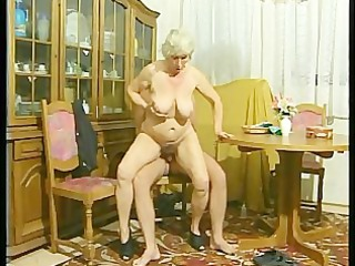 granny acquires drilled doggy style