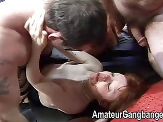 petite aged redhead loves fucking