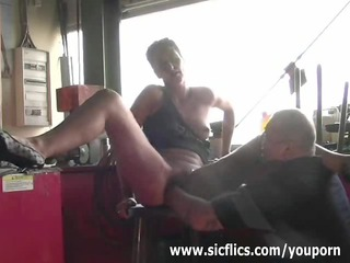 slut wife brutally fist drilled untill she is