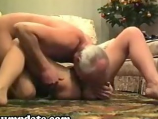 horny mature chick sucks and rides on dick