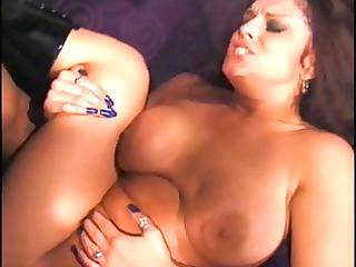 sexy brunette valuable breasts bubbly ass anal
