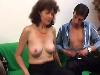 russian mature with a real hairy snatch