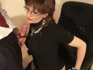 aged british femdom oral job jizz flow