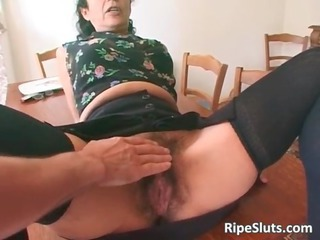 super sexually excited mature whore with hairy