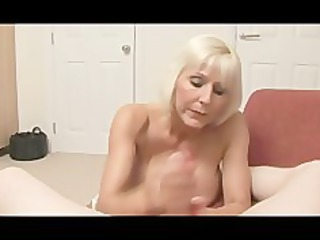 granny bimbo acquires mean with a rod pov
