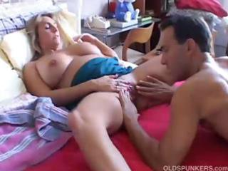 beautiful busty aged babe boned and blasted