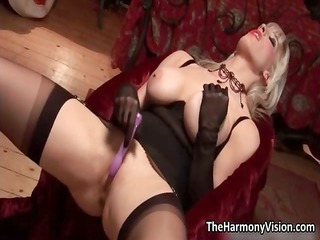 horny golden-haired mother i with large bumpers