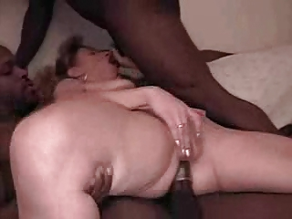wife double teamed while hubby films