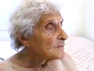 unsightly old granny receives fucked