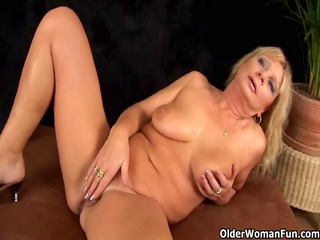 busty grandma squirts her pussy juice as that is
