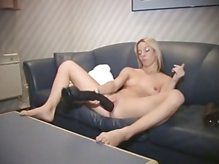large sex-toy and machine fuck