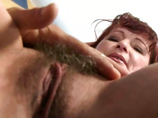 granny enjoying naughty sex with young man