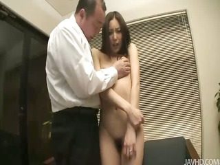 nozomi mashiros job interview includes tit and