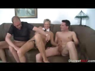 german aged excited wife