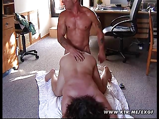 chubby non-professional wife screwed on the floor
