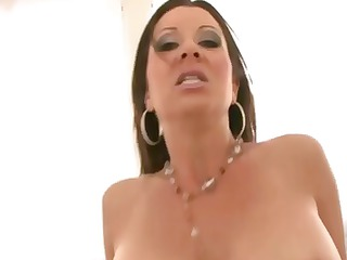 milf needs sexy pulsating knob in her throat