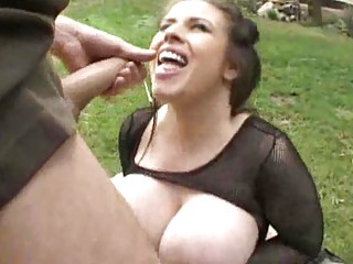 corpulent large titty milfs engulf rod