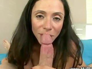 horny mother i masturbates then blowjob and