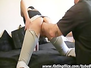 brutally fist fucked dilettante housewife