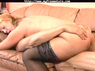 golden-haired granny engulf fuck and gulp aged