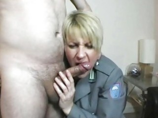 chubby golden-haired uk milf fucks with well hung