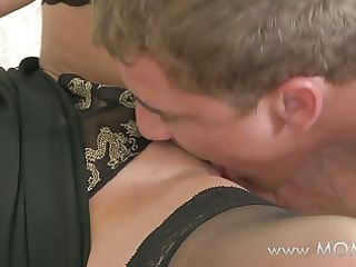 mommy wife makes up for time apart from her stud