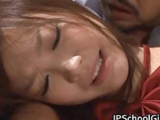 cute school girl rin momoka screwed part3
