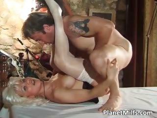 platinum blond mother i got group-fucked hardly