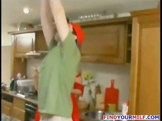 mature russian abode wife receive lewd