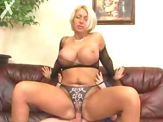 boning the large boobs milf