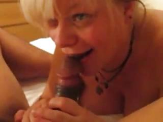 mature interracial anal